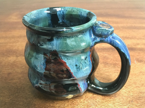 Cosmic Mug, roughly 14-15oz size, Inspired by a Star-Formation Nebula (SK186)