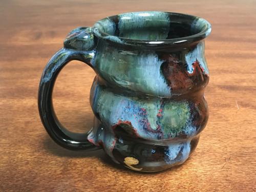 Cosmic Mug, roughly 15-16oz size, Inspired by a Star-Formation Nebula (SK200)