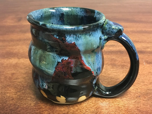 Cosmic Mug, roughly 15-16oz size, Inspired by a Star-Formation Nebula (SK201)