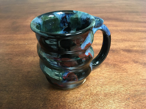 Cosmic Mug, roughly 16-17oz size, Inspired by a Star-Formation Nebula (SK783)