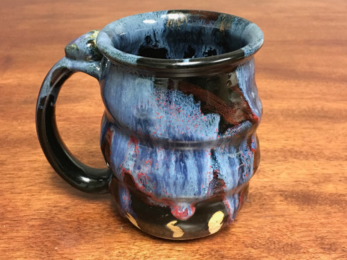 Cosmic Mug, roughly 15-16oz size, Inspired by a Planetary Nebula (SK107)