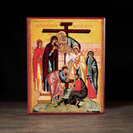 Descent from the Cross Icon - F127