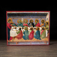 Mystical Supper (XIIIc) Icon - F152