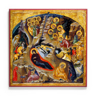 Nativity of Christ (XVc) Icon - F159