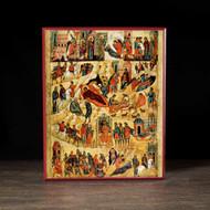 Nativity of Christ Icon - F164
