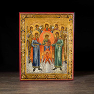 Synaxis of the Archangels (XVIIIc) Icon - F177