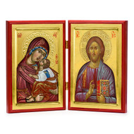 Christ and Theotokos (XXIc) Diptych
