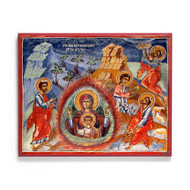 "Theotokos ""the Burning Bush"" (Slivnichki) Icon - T176"