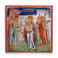 "Theotokos ""the Silence of Orators"" (Slivnichki) Icon - T177"