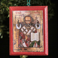 Saint Nicholas Tree Ornament - S182