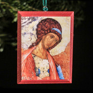 Archangel Michael (Rublev) Tree Ornament - S123