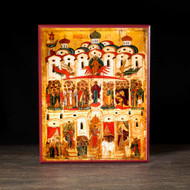 Protection of the Theotokos (XVIc) Icon - T109