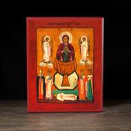 """Theotokos """"the Life-giving Spring"""" (XIXc) Icon - T136"""
