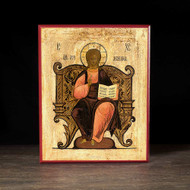 Christ Enthroned (XIXc) Icon - X111