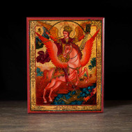 Archangel Michael of the Apocalypse (XVIIIc) Icon - S127