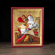 Saint George (XXc) Icon - S206