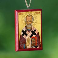 Christ / Saint Nicholas Car Mirror Icon