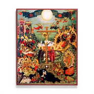 Crucifixion of Christ Icon - F118