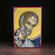 Nicholas of Myra (Athos) Icon - S328