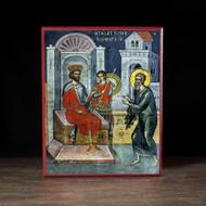 Joseph of Arimathea Requests the Body of Jesus (Athos) Icon - F247