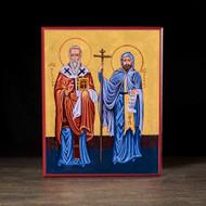 Saints Cyril and Methodius Icon - S340