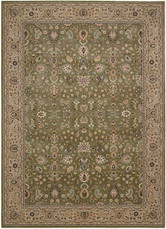 "Kathy Ireland Antiquities ""Royal Countryside"" Sage Area Rug by Nourison"