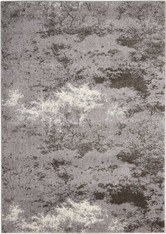 Kathy Ireland Illusion Grey Area Rug by Nourison
