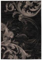 Michael Amini Gotham Black/Grey Area Rug by Nourison