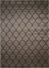 Michael Amini Glistening Nights Grey Area Rug by Nourison - MA508