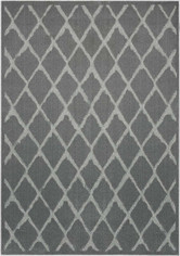 Michael Amini Gleam Grey Area Rug by Nourison