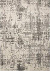 Michael Amini Gleam Ivory/Grey Area Rug by Nourison