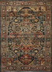 Karastan Spice Market Alcantara Sapphire