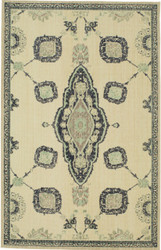 Karastan Vintage Tapis French Village Indigo by Patina Vie