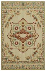 Karastan Vintage Tapis Left Bank Cream by Patina Vie
