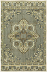 Karastan Vintage Tapis Left Bank Grey by Patina Vie