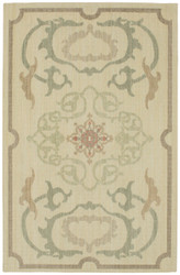 Karastan Vintage Tapis Morning In Provence Beige by Patina Vie