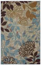 Mohawk Printed Indoor/ Outdoor Bella Garden Multi