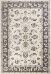 KAS Avalon 5612 Ivory Grey Mahal