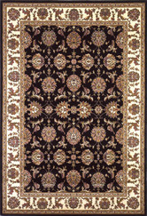 KAS Cambridge 7313 Black Ivory Kashan