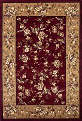 KAS Cambridge 7337 Red Beige Floral Delight