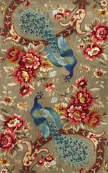 KAS Catalina 0732 Sage Peacock Flora