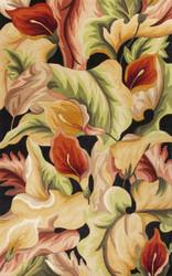 KAS Catalina 0759 Black Calla Lilies