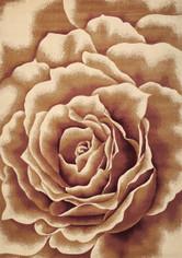 KAS Corinthian 5338 Ivory Floral Splendor