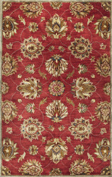 KAS Syriana 6003 Red Allover Kashan