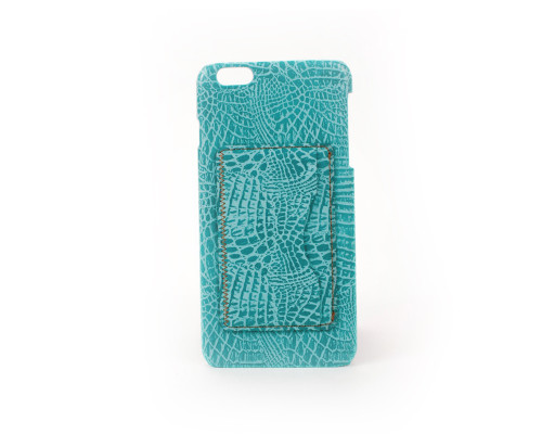 Teal iPhone 6 Leather Case