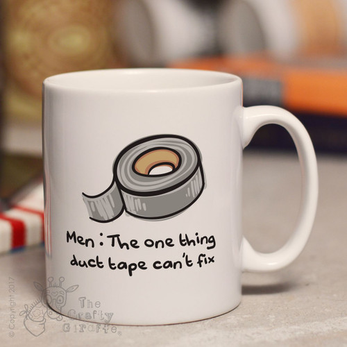 Men: The one thing duct tape can't fix mug