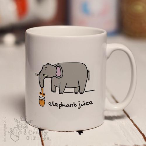 Elephant juice mug