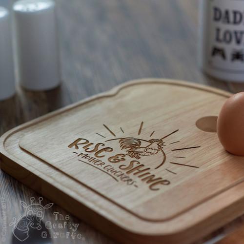 Breakfast Egg Board - Mothercluckers
