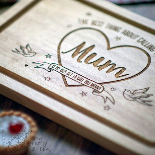 Personalised The Best thing about calling you Mum Board