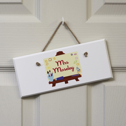 Personalised Art Easel Sign